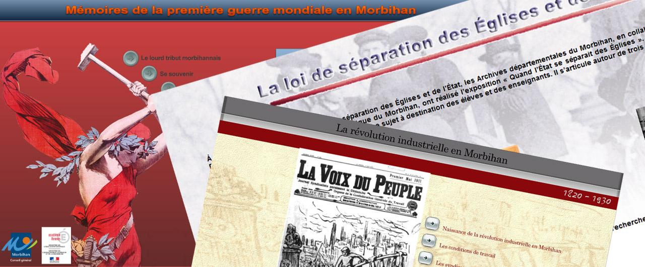 Dossiers p dagogiques archives d partementales du morbihan - Presse ancienne morbihan ...