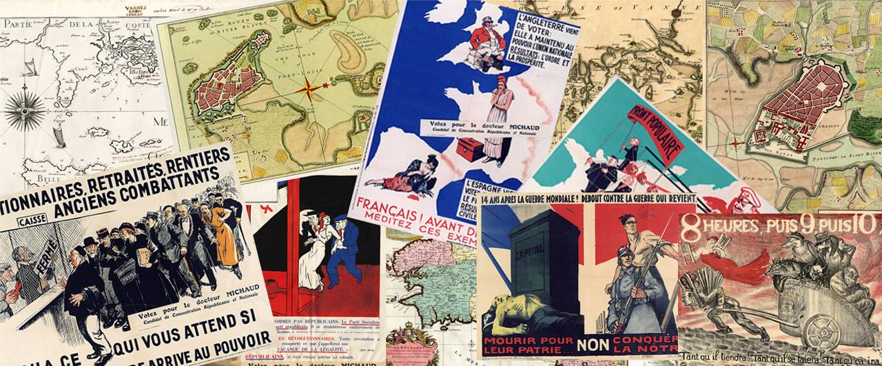 Cartes postales et posters archives d partementales du morbihan - Presse ancienne morbihan ...