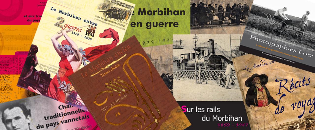 Publications archives d partementales du morbihan - Presse ancienne morbihan ...
