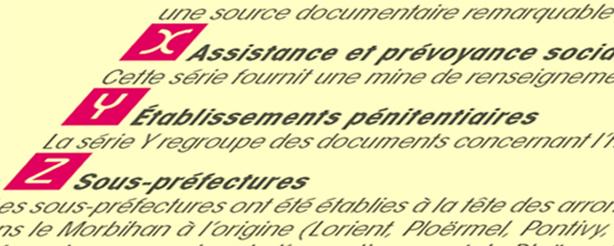 pr 233 sentation archives d 233 partementales du morbihan