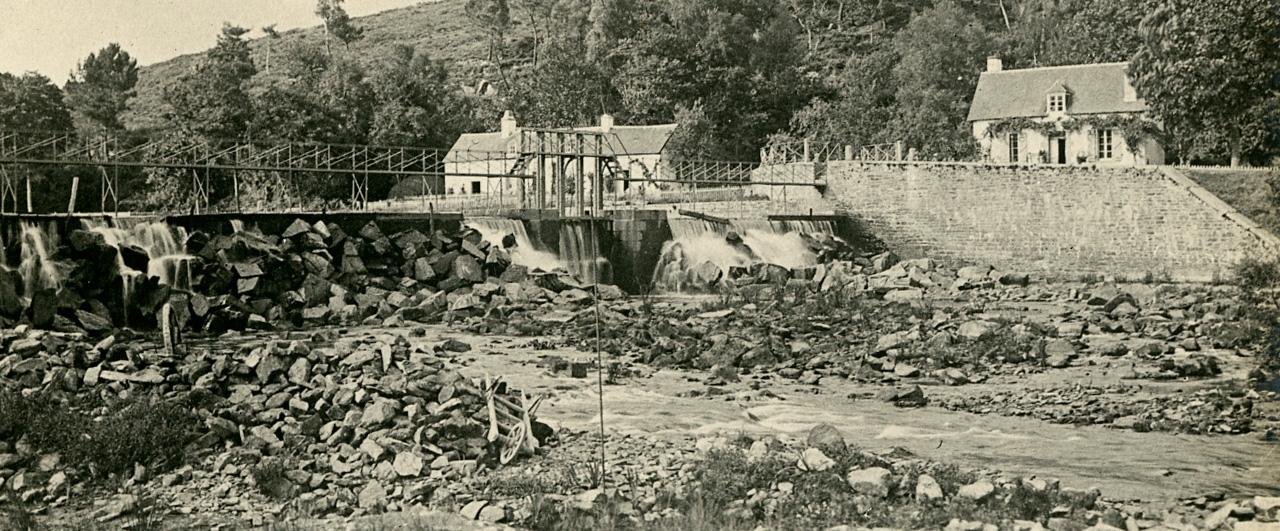 Le barrage de guerl dan archives d partementales du morbihan - Presse ancienne morbihan ...